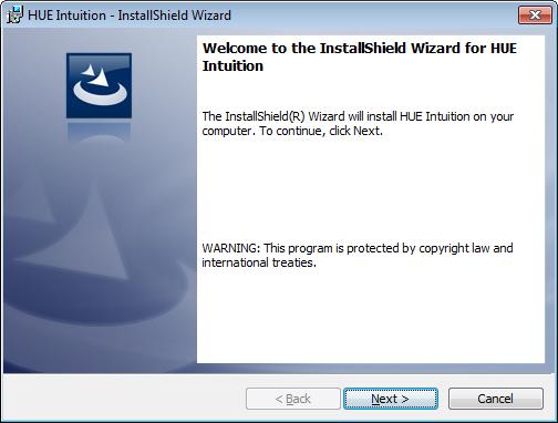 HUE Intuition installer