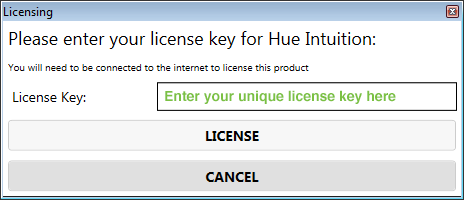 Intuition license key