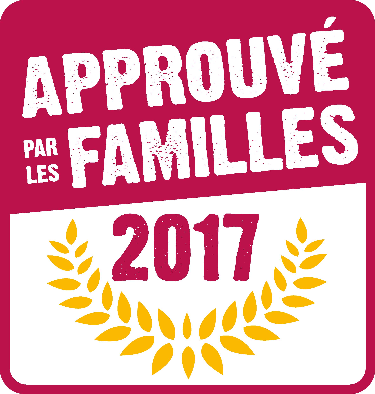 Approuvé par le familles logo 2017