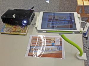 Tablet-Ständer und Dokumentenkamera für digitales Lernen im Unterricht: Rezension von Bunterlich