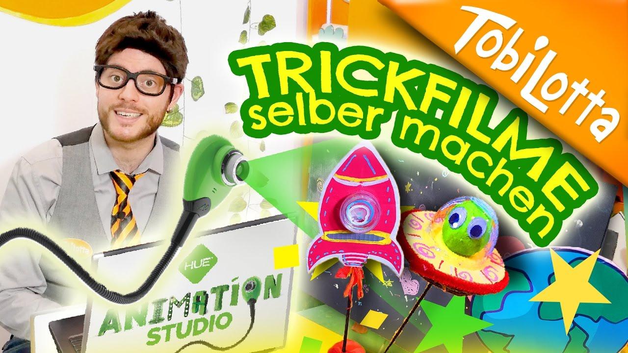 """""""Trickfilme selber machen""""-Tutorial für Kinder: YouTube DIY-Kinder-Kanal TobiLotta erklärt wie es geht!"""