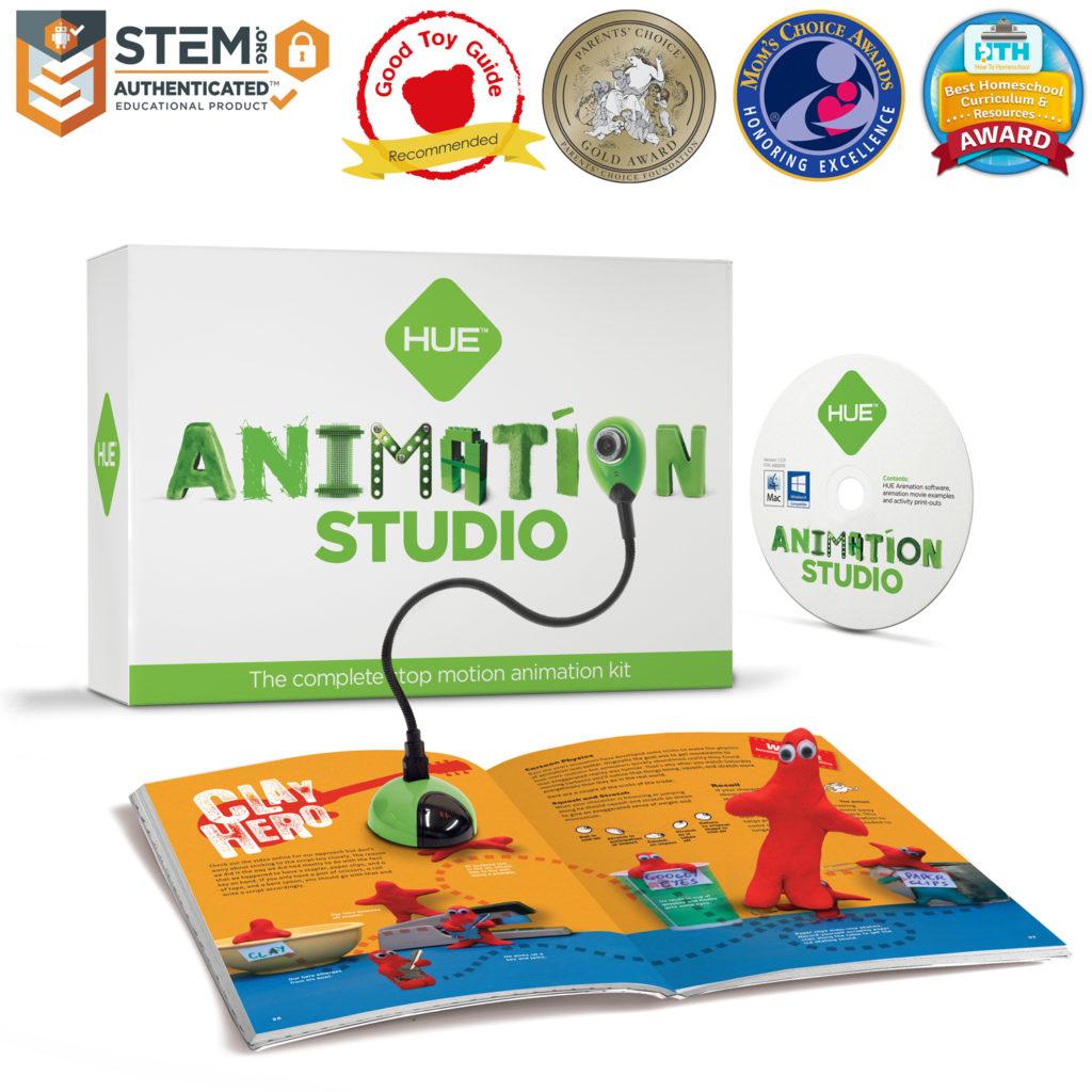 HUE Animation Studio (Green) with awards
