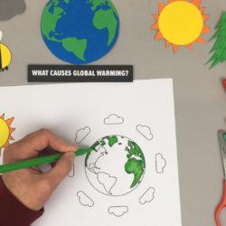 HUE Global Warming animation preparation
