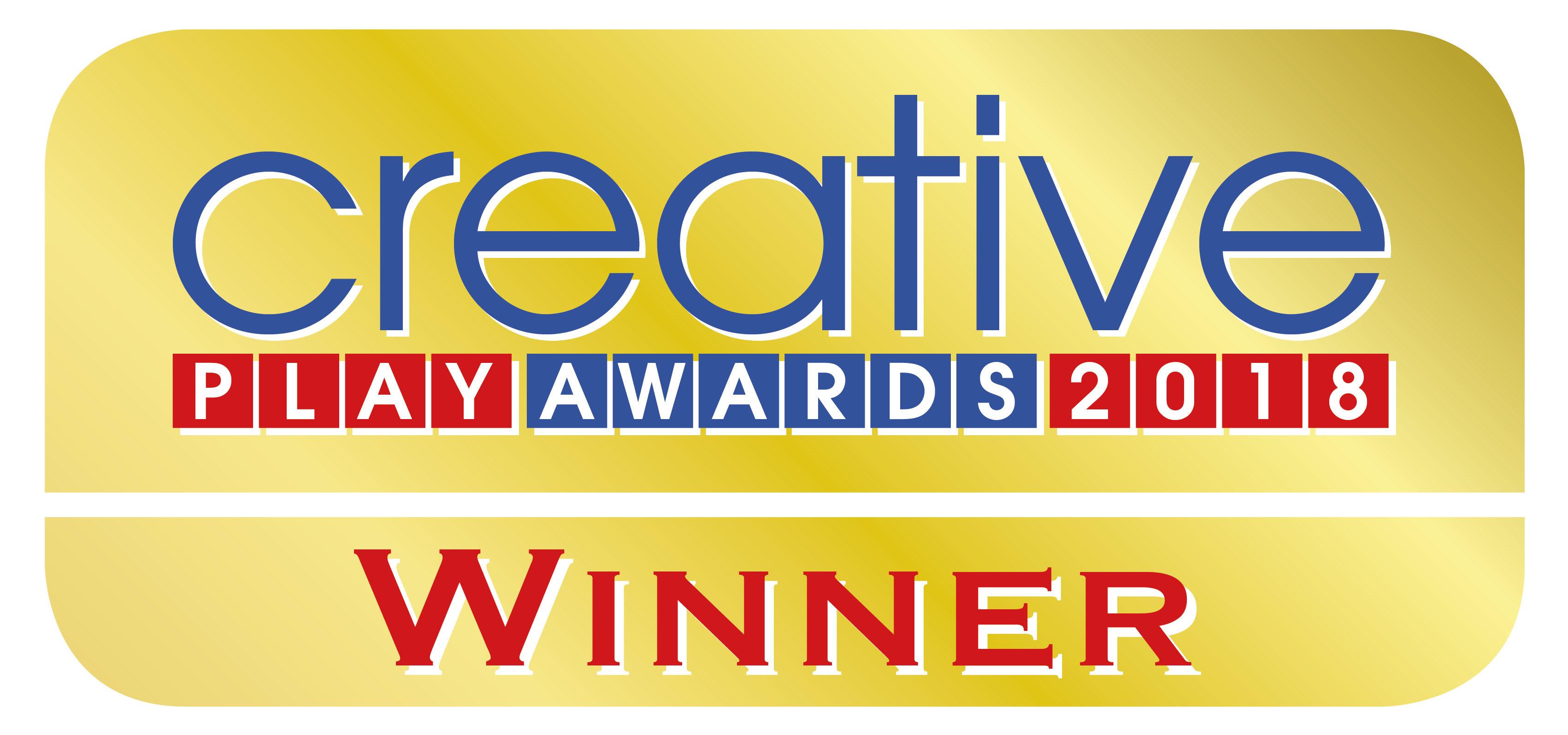 Creative Play Awards logo 2018