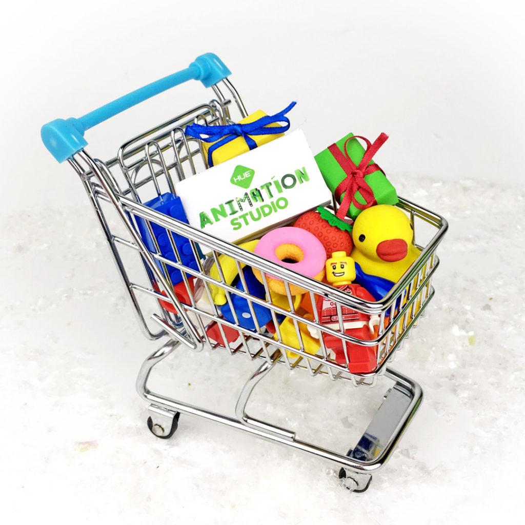 HAS Christmas Shopping Trolley Square