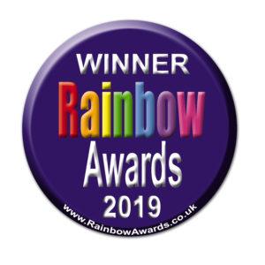 Rainbow Toy award 2019 logo