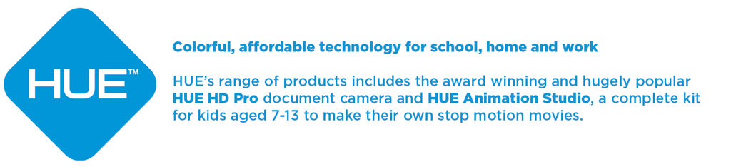 HUE: Colorful, affordable technology for school, home and work