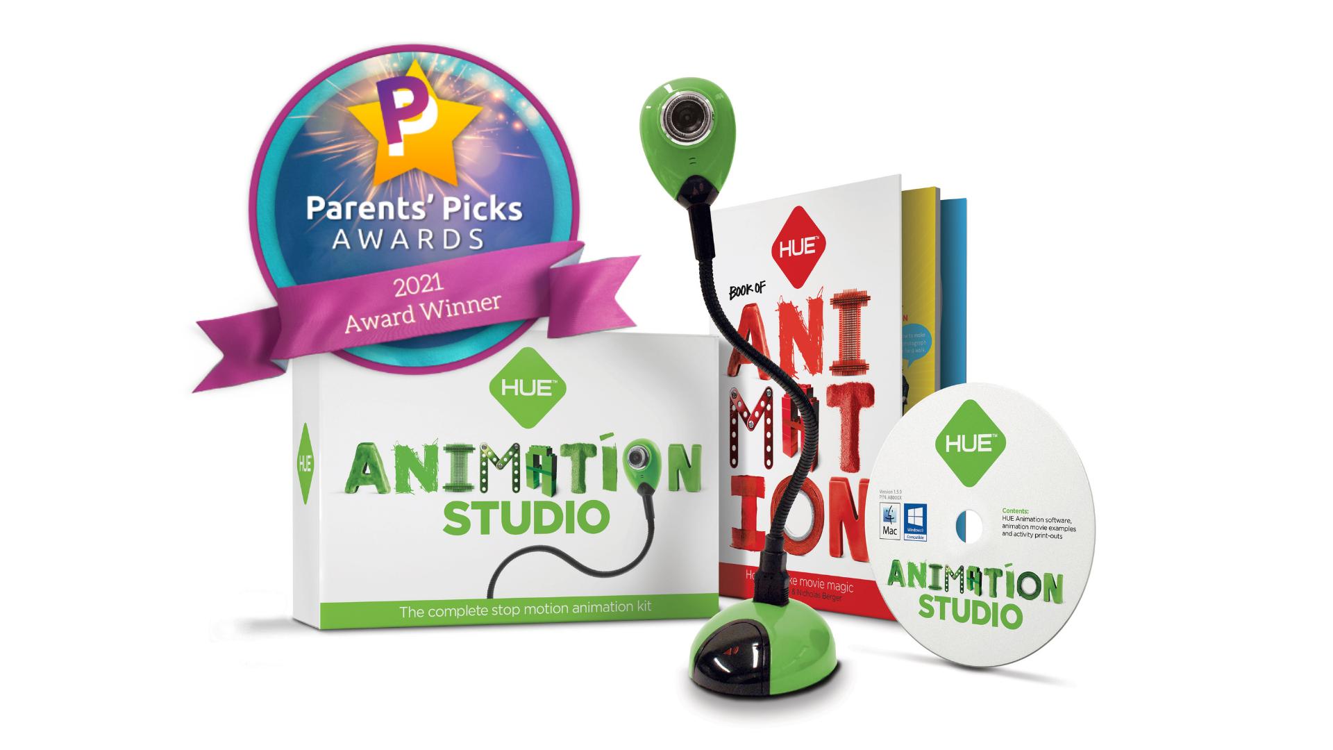 HUE Animation Studio is a Parents' Picks 2021 Award Winner!
