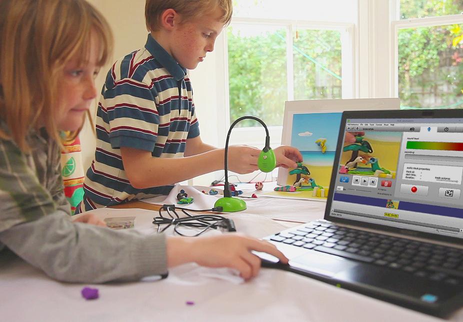 Children with HUE Animation Studio