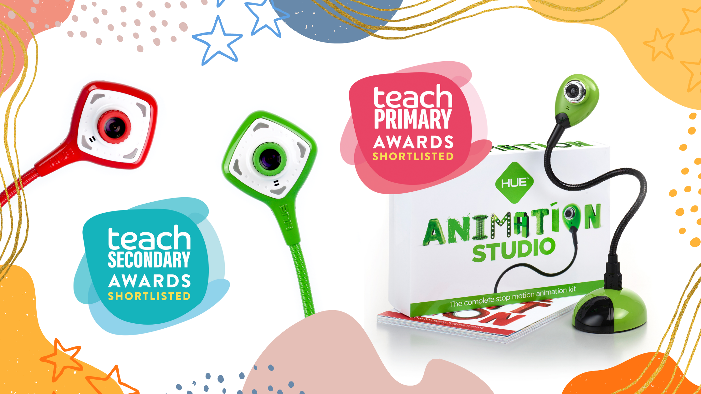 HUE is shortlisted for awards by Teach Primary and Teach Secondary
