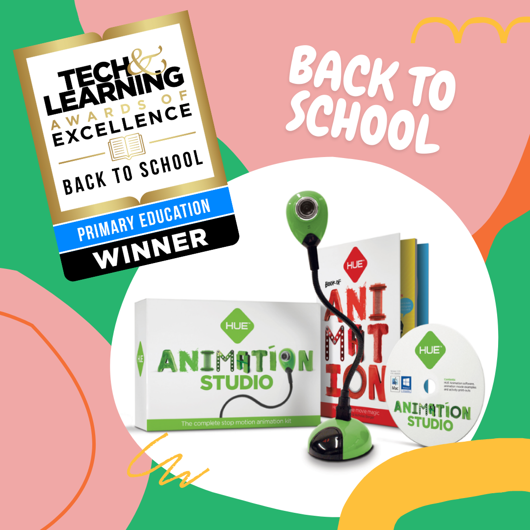HUE Animation Studio wins Tech & Learning 2021 Award of Excellence