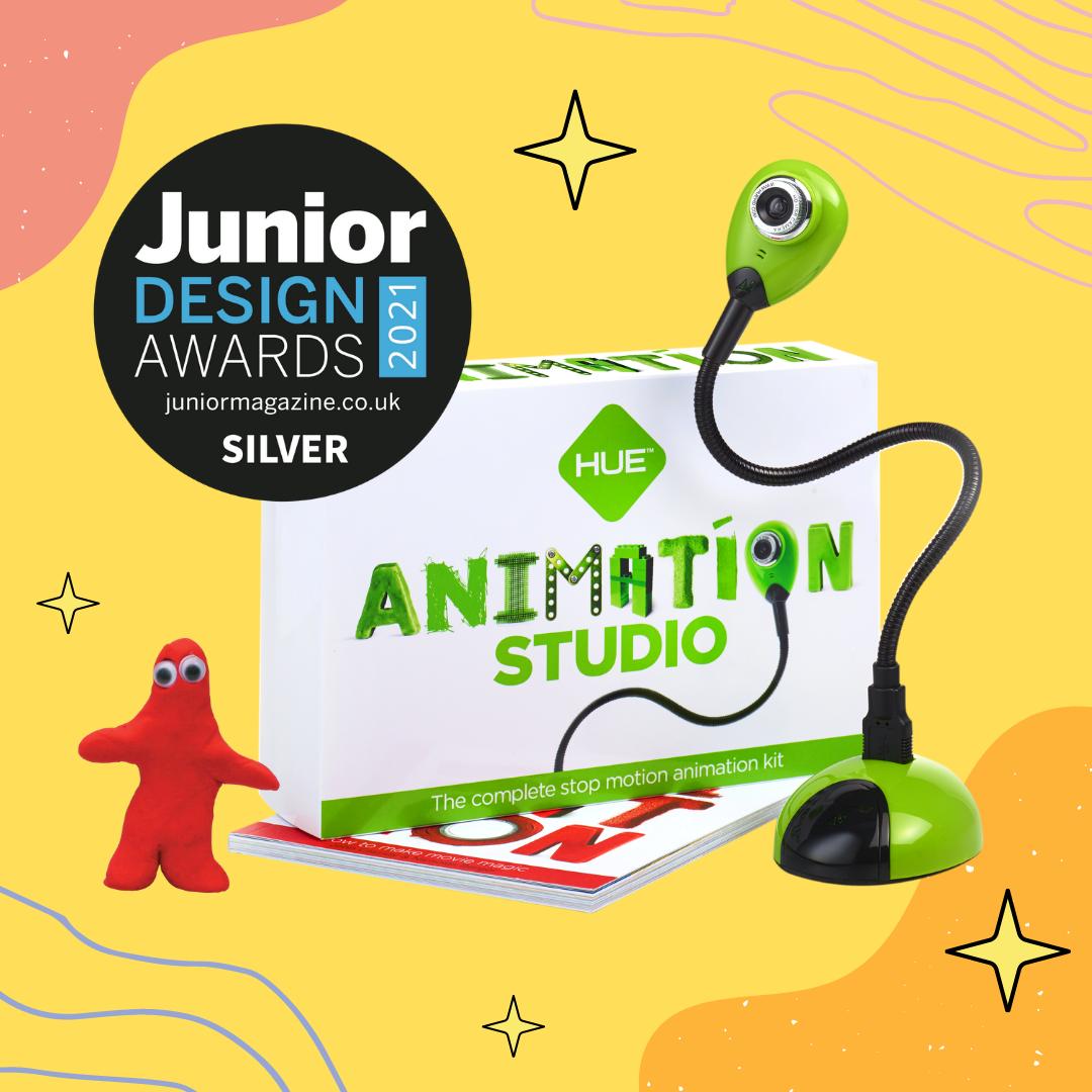 HUE Animation Studio wins a Junior Design Award!