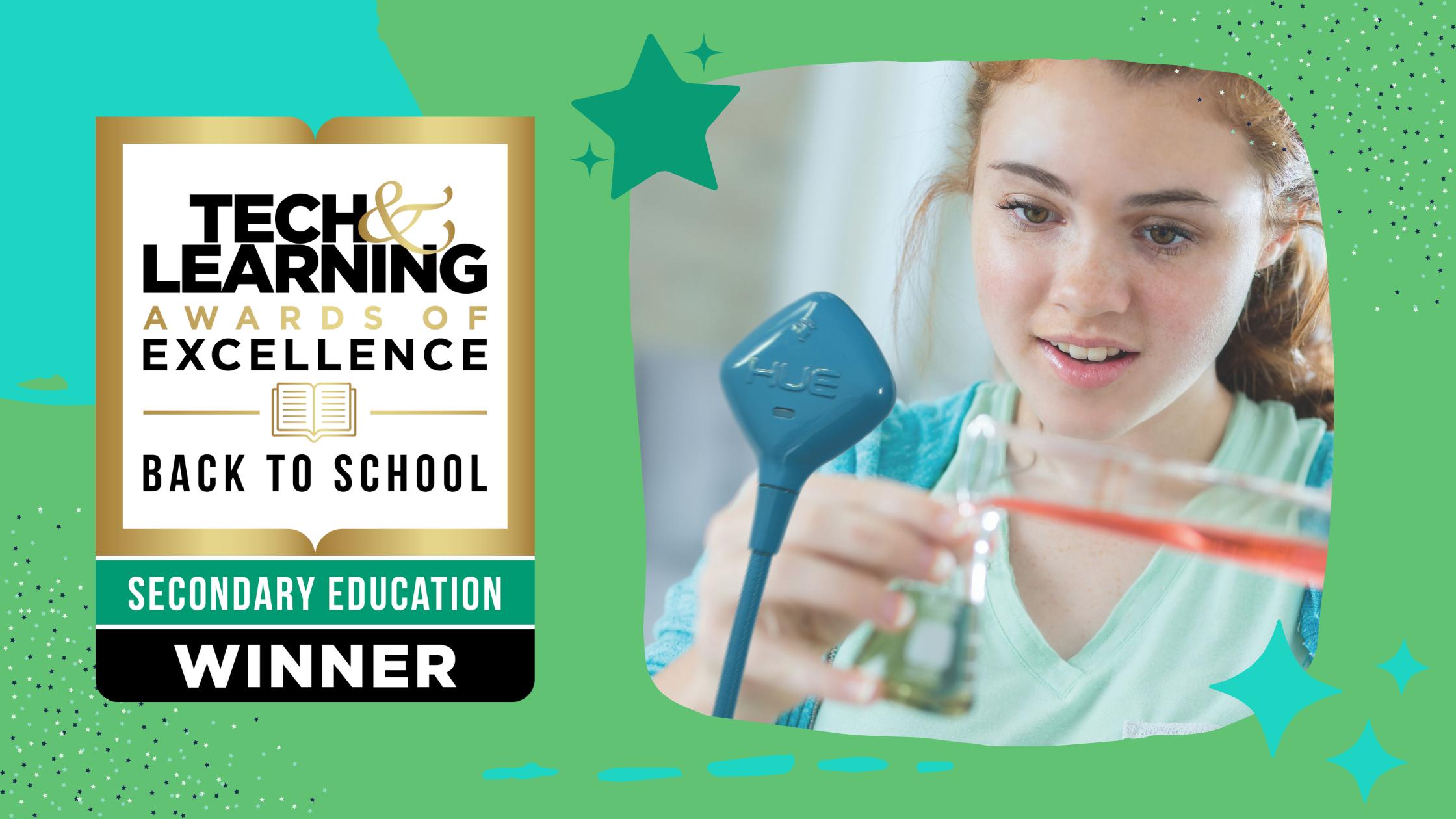 HUE HD Pro wins Tech & Learning 2021 Award