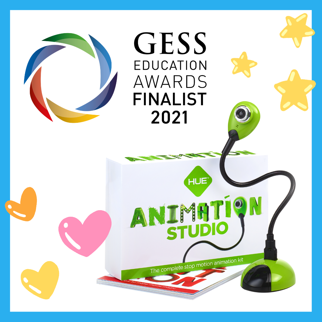 HUE Animation Studio is a finalist in the 2021 GESS Awards!